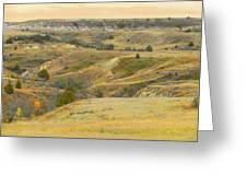 September Ridgeline Reverie Greeting Card