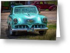 Shades Of Yesteryear Greeting Card by Barry Jones