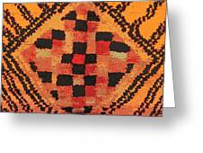 Shaman Tribal Badge Greeting Card