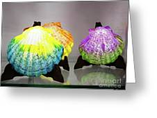 She Sells Sea Shells Greeting Card by Rick Locke