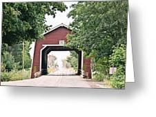 Shimanek Covered Bridge Greeting Card