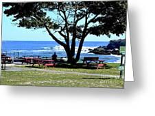 Ship Cove Park Greeting Card