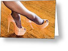 Shoes Greeting Card by Jim Lesher