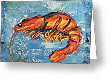 Shrimp Greeting Card