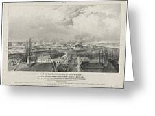 Siege Of The Citadel Of Antwerp Greeting Card