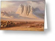 Sinai Greeting Card