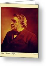 Sir Charles Tupper Greeting Card