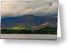 Skiddaw Panorama Greeting Card