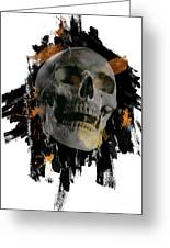 Skull - 4 Greeting Card
