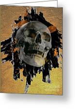 Skull - 9 Greeting Card
