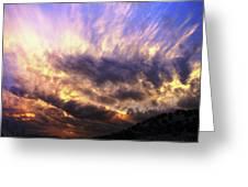 Sky Burst Greeting Card
