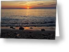 Sleeping Bear Bay 1 Greeting Card