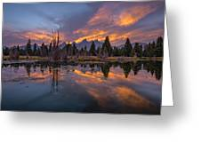 Snake River Glory Greeting Card