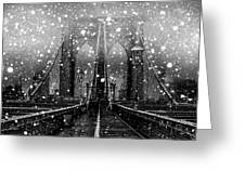 Snow Collection Set 04 Greeting Card
