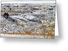 Snowy Dakota Greeting Card