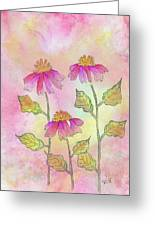 So Pretty In Pink Greeting Card