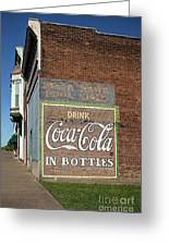 Soft Drink Mural Greeting Card