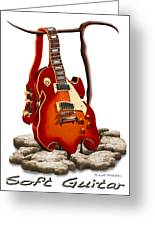 Soft Guitar - 3 Greeting Card