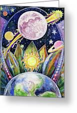Solstice Moon Greeting Card