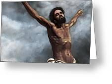 Son Of God Greeting Card by Dwayne Glapion