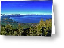 South Lake Tahoe Greeting Card