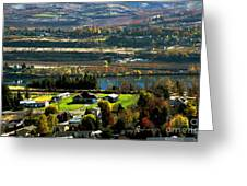 South Wenatchee Fall Greeting Card