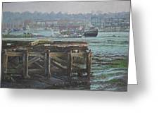 Southampton Northam Summer Evening Across The Itchen Greeting Card