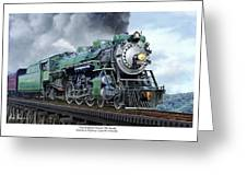 Southern Railway Class Ps-4 Pacific Greeting Card