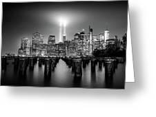 Spirit Of New York Greeting Card