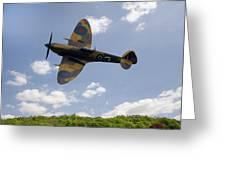 Spitfire Mk356 Greeting Card