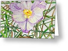 Spring Macro Tangle Greeting Card