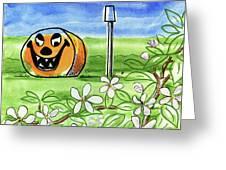 Spring-o-ween Greeting Card