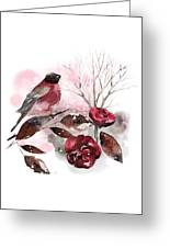 Spring Rests In The Heart Of Winter Greeting Card