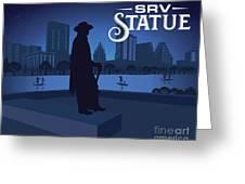 Srv Memorial Statue Greeting Card