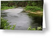 St Joe Bridge Greeting Card