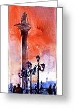 St. Mark's Square- Venice Greeting Card