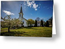 St. Paul's Catholic Church 2 Greeting Card