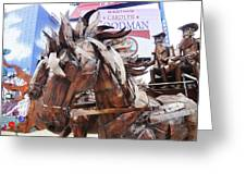 Stagecoach 2 Greeting Card