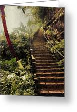 Stairway To Yesterday Greeting Card