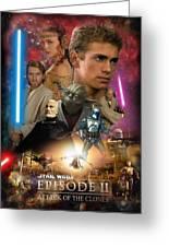 Star Wars Episode II Greeting Card