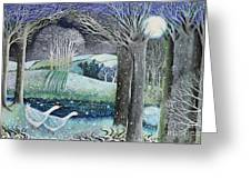 Starry River Greeting Card