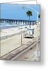 Station 3 Oceanside California 2  Greeting Card