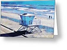 Station 5 Oceanside California 2  Greeting Card