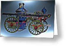 Steamer No 14 Greeting Card