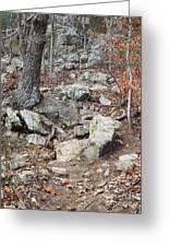 Steep Trails Greeting Card