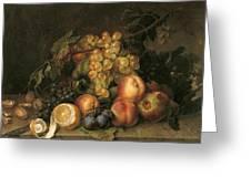 Still Life, 1808 Greeting Card