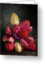 Still Life With Tulips 35 Greeting Card