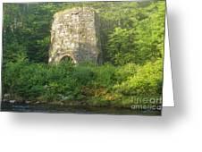 Stone Iron Furnace - Franconia New Hampshire Greeting Card