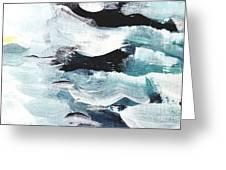 Stormy Sea Greeting Card