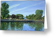 Straw Jack Carshalton Greeting Card
